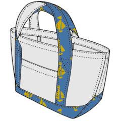 トートバッグの型紙