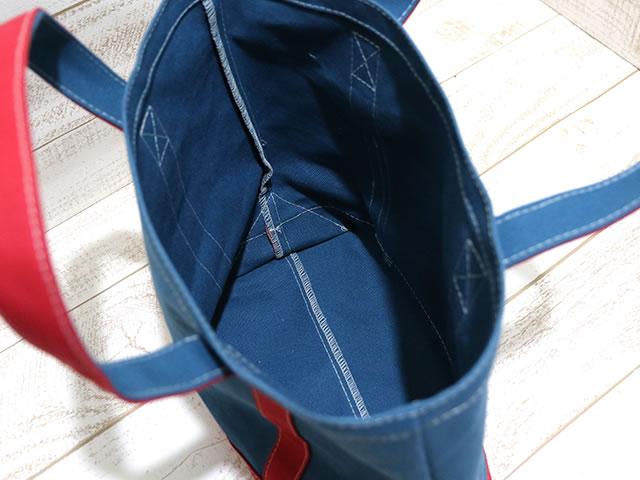 縫い代をミシンで簡単に処理。