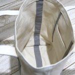 (kami-to-nunoスタイル)内ポケット付き、縫い代が見えず仕上がりがきれいです。