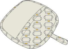 鍋つかみ(四角)の型紙[kt-002]