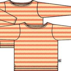 メンズボートネックTの型紙