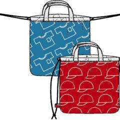 ny011 体操服袋【持ち手タイプ&ナップサックタイプ】(リバーシブル仕様)の型紙